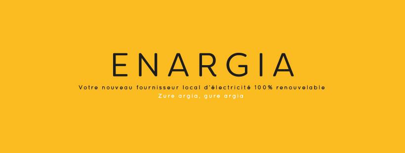 Enargia fournisseur électricité verte basque de AED64 votre artisan
