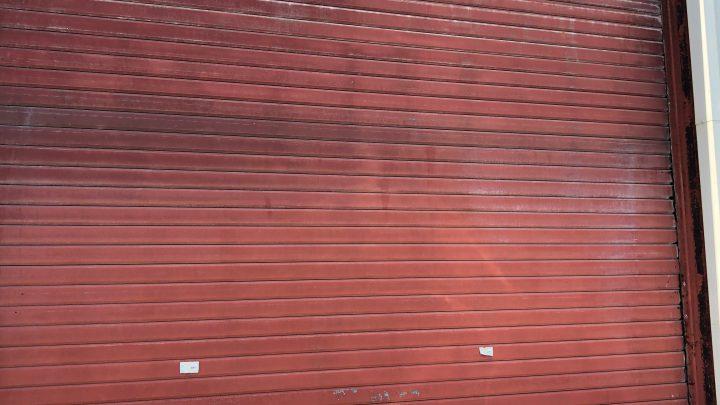 Réparation d'un rideau métallique à Biarritz